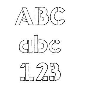 Fonts (Download) SBC Stencil