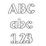 Fonts (Download) SBC Stencil