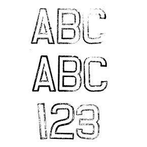 Fonts (Download) SBC The 40s