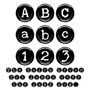 Fonts (Download) SBC Type Keys Black