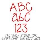 Fonts (Download) SBC Whimsy Joggle