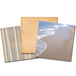 E-Kit Papers (Digital Scrapbooking) - Beach Day