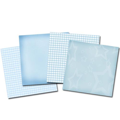 E-Kit Papers (Digital Scrapbooking) - Baby Boy
