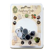 Epiphany Crafts - Jewelry - Metal Charm Settings - Silver