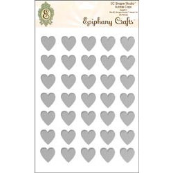 Epiphany Crafts - Jewelry - Metal Charms - Heart 25