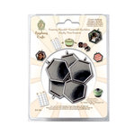 Epiphany Crafts - Shape Studio - Metal Charm Settings - Hexagon 25