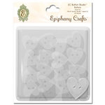 Epiphany Crafts - Button Studio - Self Adhesive Buttons - Heart 20