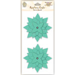 Epiphany Crafts - Felt Flowers - Star - Mint