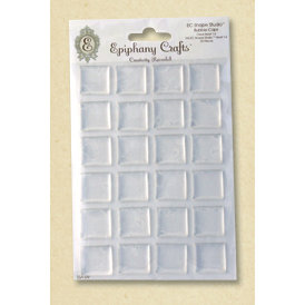 Epiphany Crafts - Shape Studio - Bubble Caps - Clear - Square 25