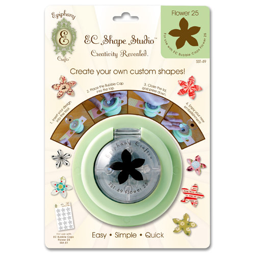 Epiphany Crafts - Shape Studio - Custom Shape Making Tool - Flower 25