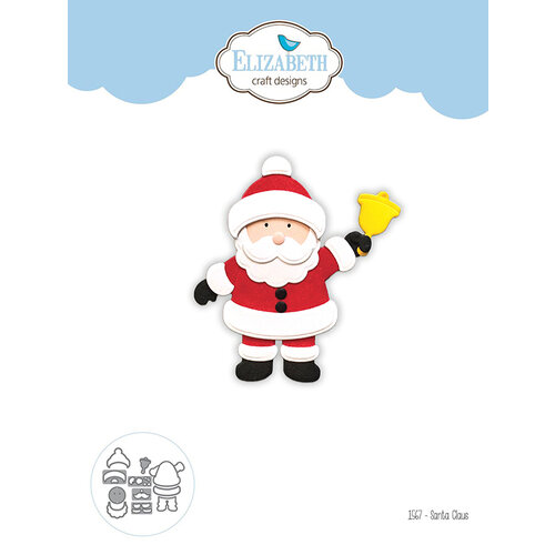 Elizabeth Craft Designs - Christmas - Dies - Santa Claus