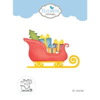 Elizabeth Craft Designs - Christmas - Dies - Santa's Sleigh