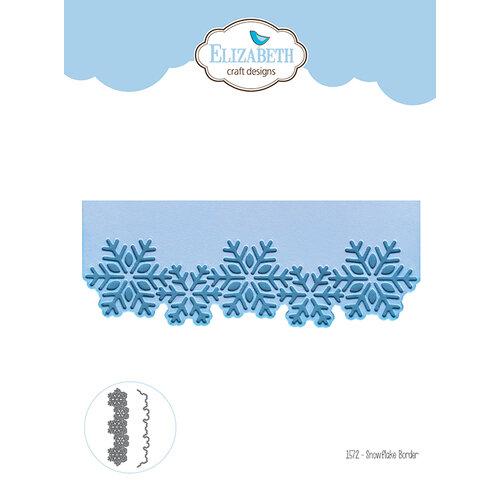 Elizabeth Craft Designs - Christmas - Dies - Snowflake Boarder