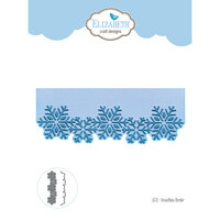 Elizabeth Craft Designs - Christmas - Dies - Snowflake Boarder