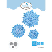 Elizabeth Craft Designs - Christmas - Dies - Snowflakes