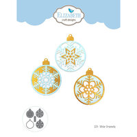 Elizabeth Craft Designs - Christmas - Dies - Winter Ornaments