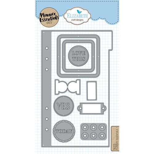 Elizabeth Craft Designs - Dies - Planner Essentials - 1