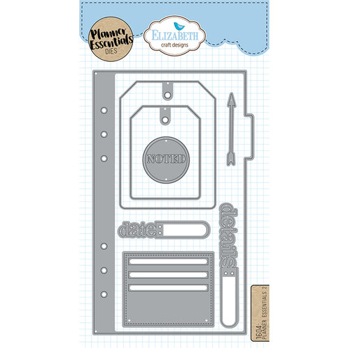 Elizabeth Craft Designs - Dies - Planner Essentials - 2