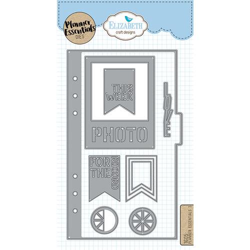 Elizabeth Craft Designs - Dies - Planner Essentials - 3