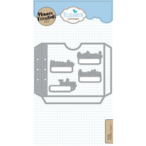 Elizabeth Craft Designs - Dies - Planner Pocket - 1