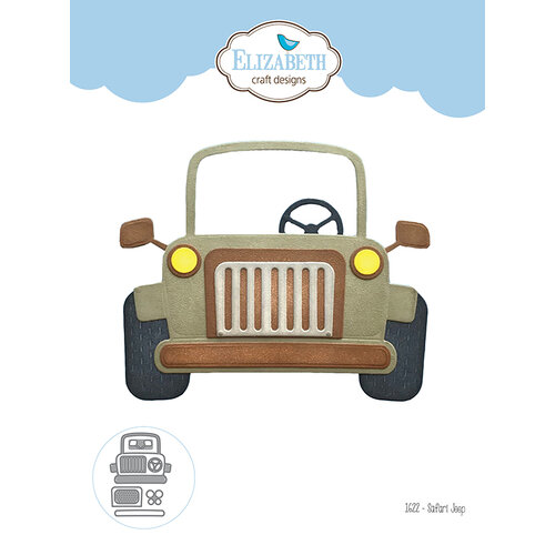 Elizabeth Craft Designs - Dies - Safari Jeep