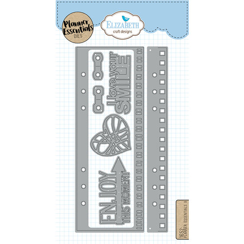 Elizabeth Craft Designs - Dies - Planner Essentials - 8