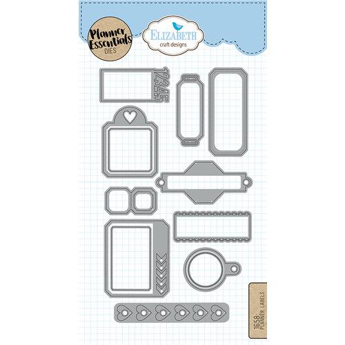 Elizabeth Craft Designs - Dies - Planner Labels