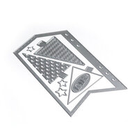 Elizabeth Craft Designs - Christmas - Dies - Planner Essentials 12 - Arrow Page & Trees
