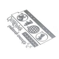 Elizabeth Craft Designs - Christmas - Dies - Planner Essentials 14 - Bookmark 1