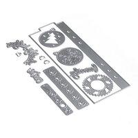 Elizabeth Craft Designs - Christmas - Dies - Planner Essentials 15 - Bookmark 2
