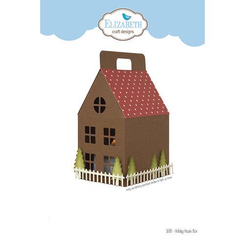Elizabeth Craft Designs - Christmas - Dies - Holiday House Box