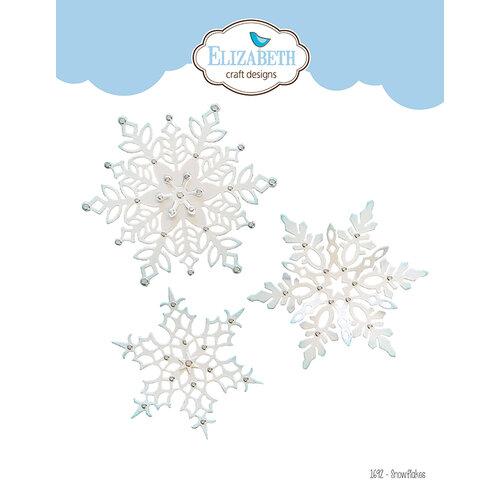 Elizabeth Craft Designs - Christmas - Dies - Snowflakes