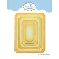 Elizabeth Craft Designs - Dies - Fitted Indented Rectangle