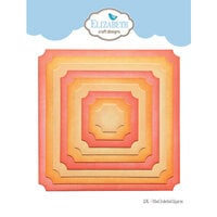 Elizabeth Craft Designs - Dies - Fitted Indented Square