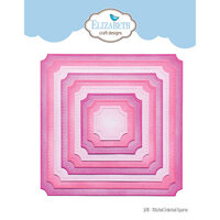 Elizabeth Craft Designs - Dies - Stitched Indented Square