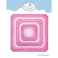 Elizabeth Craft Designs - Dies - Stitched Indented Square