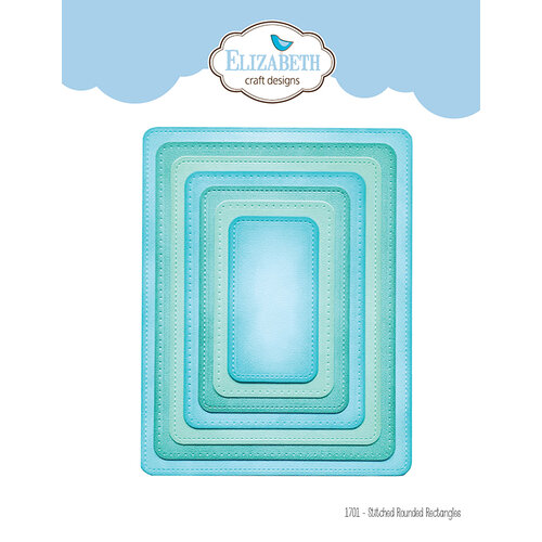 Elizabeth Craft Designs - Dies - Stitched Rounded Rectangle