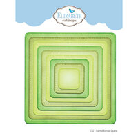 Elizabeth Craft Designs - Dies - Stitched Rounded Square