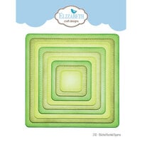 Elizabeth Craft Designs - Dies - Stitched Rounded Square