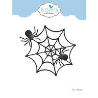 Elizabeth Craft Designs - Halloween - Dies - Spider Web