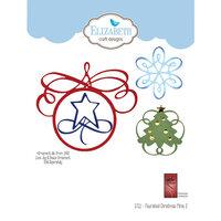 Elizabeth Craft Designs - Christmas - Dies - Flourished Christmas Minis 2