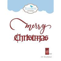 Elizabeth Craft Designs - Christmas - Dies - Merry Christmas 3
