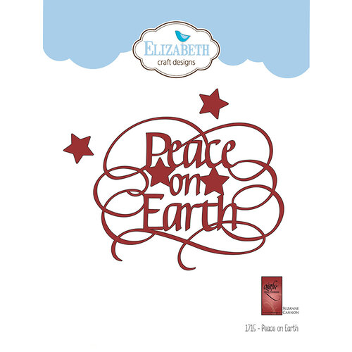 Elizabeth Craft Designs - Christmas - Dies - Peace on Earth