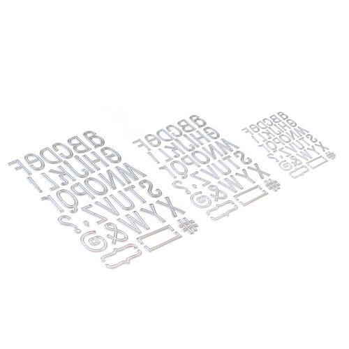 Elizabeth Craft Designs - Dies - Planner Essentials 23 - Retro Alphabet Trio