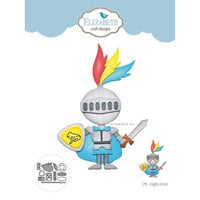 Elizabeth Craft Designs - Storybook Collection - Dies - Knights Armour