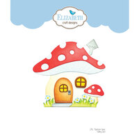 Elizabeth Craft Designs - Storybook Collection - Dies - Mushroom House Folding Card