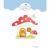 Elizabeth Craft Designs - Storybook Collection - Dies - Mushroom House Folding Card