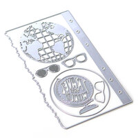 Elizabeth Craft Designs - Dies - Planner Essentials 28 - Globe