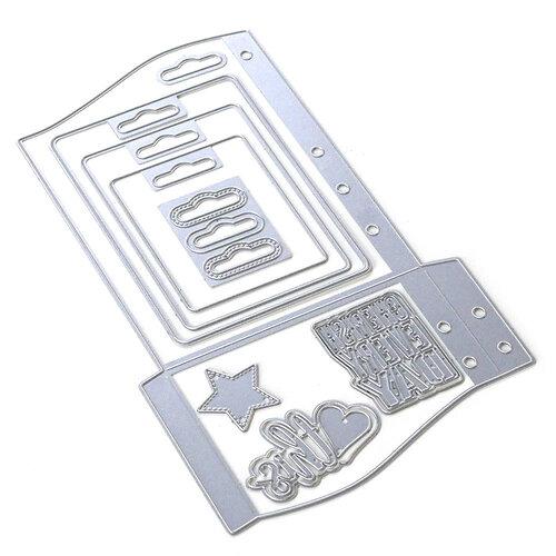 Elizabeth Craft Designs - Dies - Planner Essentials 30 - Wave Pocket