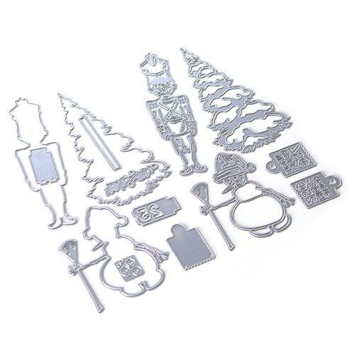 Elizabeth Craft Designs - Dies - Planner Essentials 34 - Christmas Figures